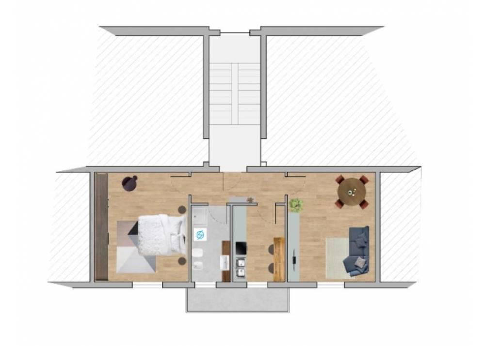 Vendita Appartamento a Parma bilocale Montanara di 67 mq