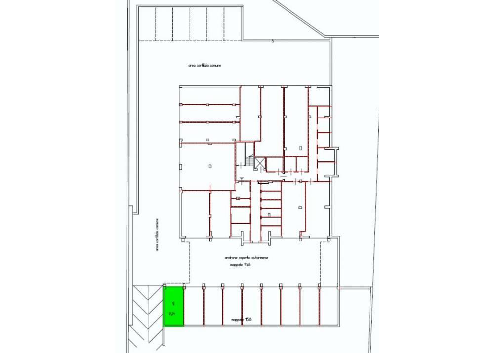 Vendita Garage a Parma monolocale San Leonardo di 18 mq