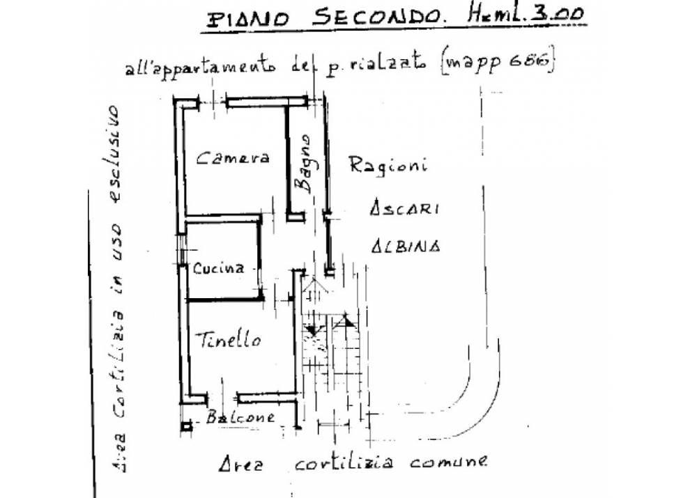 Vendita Appartamento a Parma bilocale Montanara di 57 mq