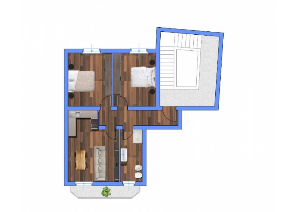 Vendita Appartamento a Parma bilocale Montanara di 78 mq