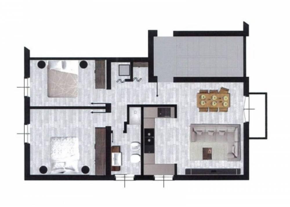 Vendita Appartamento a Parma trilocale Molinetto-Baganza di 78 mq