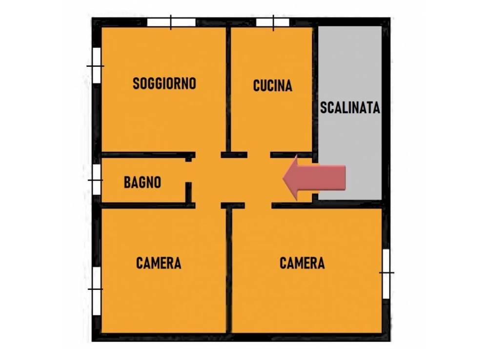 Vendita Appartamento a Parma trilocale San Leonardo/Paradigna di 98 mq