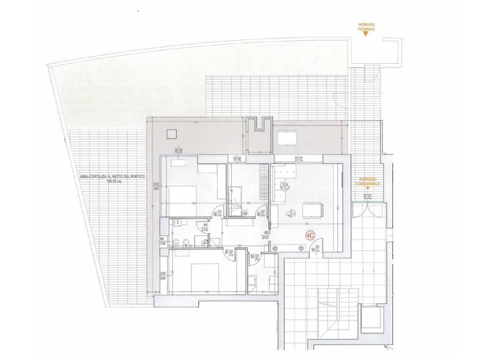 Vendita Appartamento a Parma quadrilocale Eurosia di 159 mq
