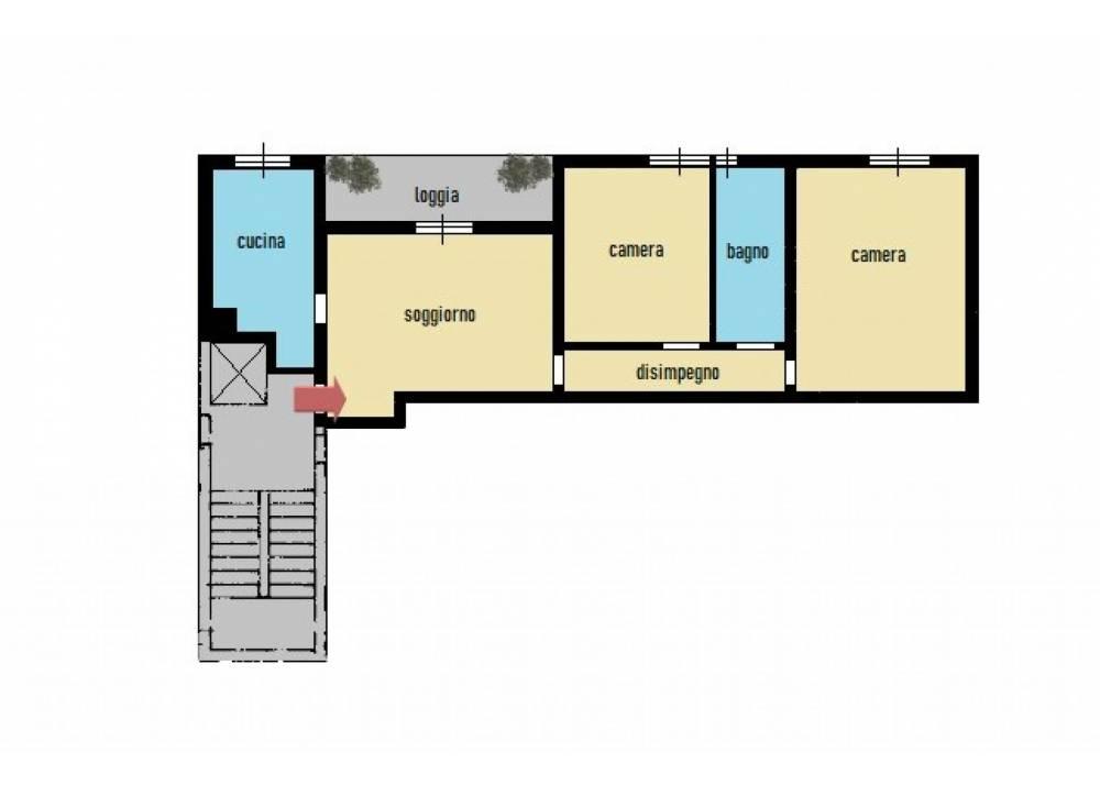 Vendita Appartamento a Parma trilocale Cinghio/Montanara di 88 mq
