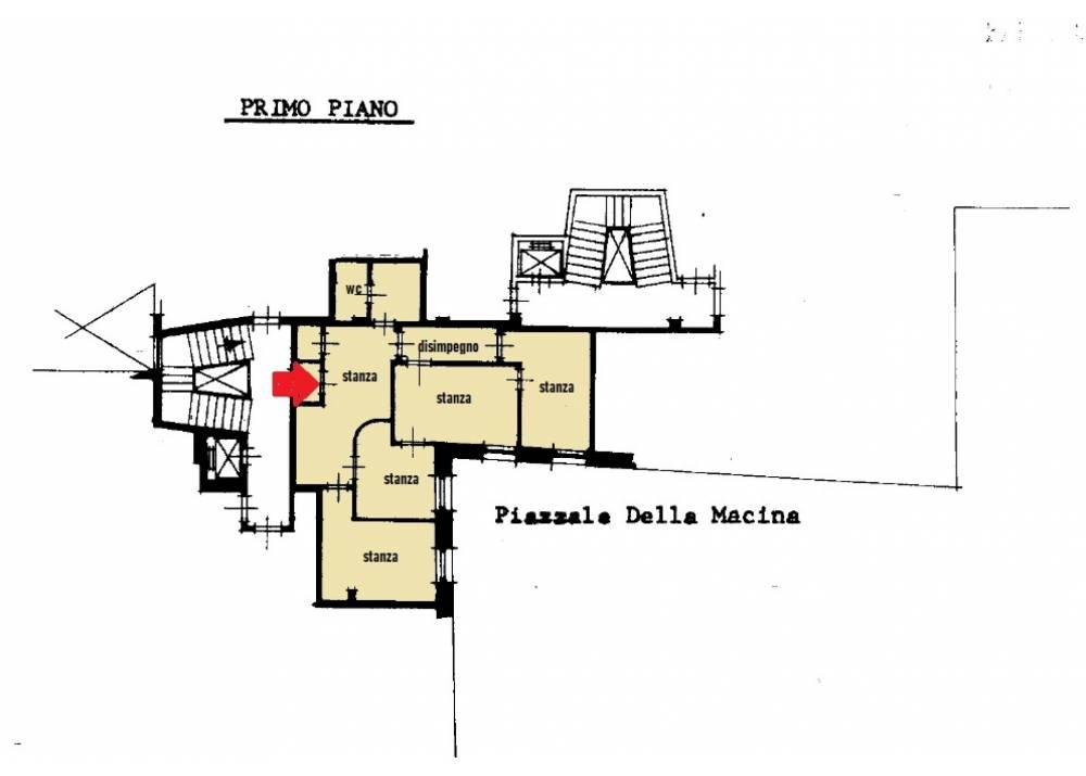 Vendita Ufficio a Parma monolocale Centro Storico di 82 mq