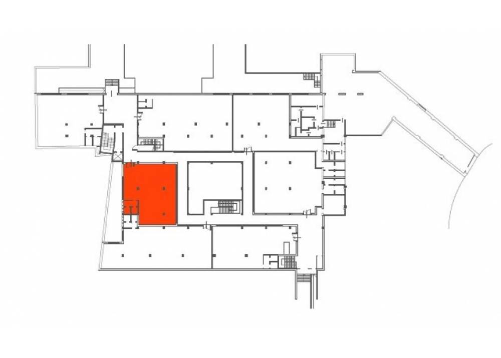 Affitto Ufficio a Parma monolocale Zona Ospedale di 120 mq